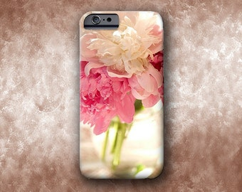 Pink Floral iPhone Cell Phone Cases. iPhone 6s, iPhone 6, Iphone 6 plus, iPhone 5c, iPhone 5, iPhone 4