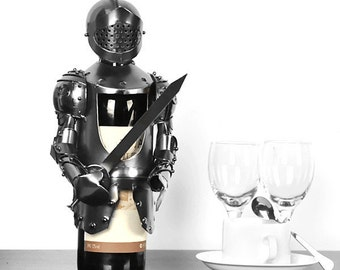 Knight Armor Bottle Cover