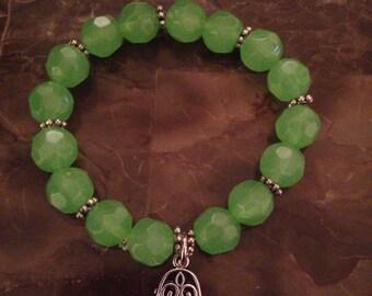 Hand of fatima -green