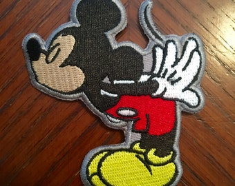 """Kissing Mice """"Mickey"""" Patch"""