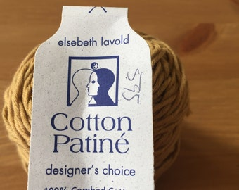Elsebeth Lavold Cotton Patine 100% Combed Cotton yarn