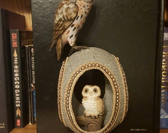 Momma and Baby Owl