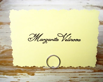 30 Name Card Holder, Wedding Table Name Tag Holder, Wedding Place Card Holder, Wedding Place Holder, Wedding Table Stands