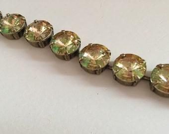 Luminous Green Swarovski Crystal Bracelet