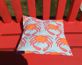 Outdoor cushion. Pillows to garden or pool. crab 1