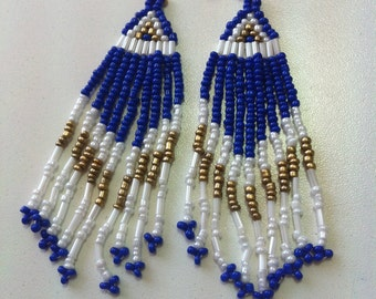 Bohemian beaded earings