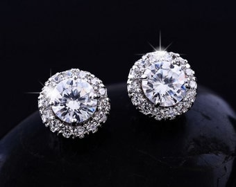 Fashion Accessories Earrings with zircon