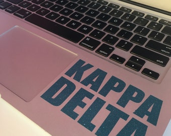 Kappa Delta Block Decal