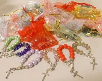 Pocket Rosaries | Baptism Giveaways | Favors