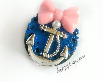 "Sweet Sailor Plugs (5/8""-1 3/8"")"