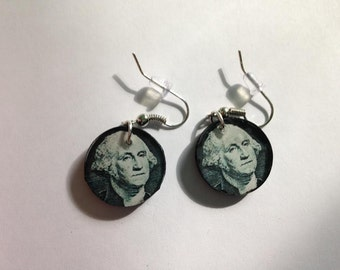 George Washington Earrings