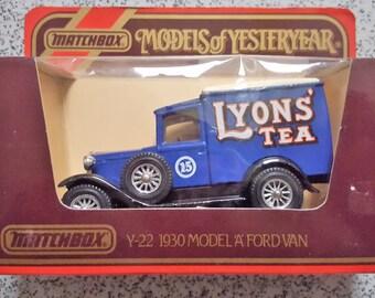 Lyon's Tea Y22 Model A Ford Van 1930 - Models of yesteryear