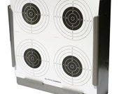 100 x Air Rifle Four Circle Target Design on Card 14 x 14cm