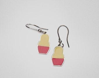 SALE 10% OFF Matryoshka Sarafan Earrings