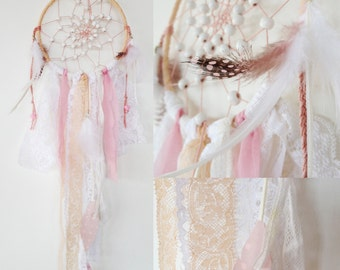 DreamCatcher-catcher dreams - powder pink