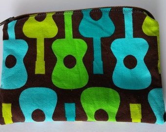 Groovy Guitars Large Coin Pouch