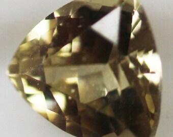 Sinhalite 0.83cts Trillion Cut 6.00 x 6.00mm g863 Loose Gem Faceted Gemstone Jewelry Making Semi Precious Triangle