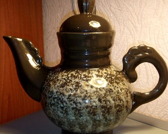 Vintage Ceramic Teapot from the USSR