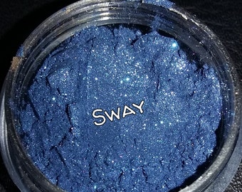 Sway blue eyeshadow by makeupfairyz