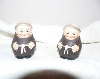 Hummel Friar Tuck Salt and Pepper Shakers