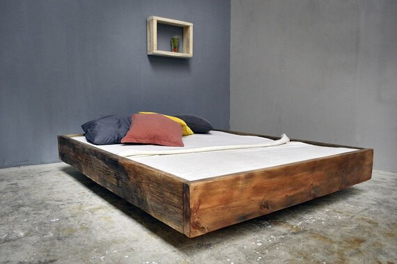bauholz bett lussan rotbraun. Black Bedroom Furniture Sets. Home Design Ideas