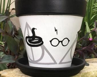 Harry Potter Horcrux Flower Pot