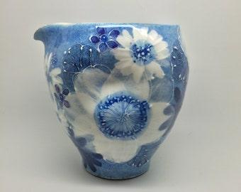 Yuzuriha Asian Blue Flower Katakuchi
