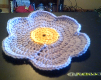 Flower Dishcloth