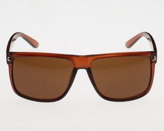 Classic Vintage Mens Womens Fashion Sunglasses Shades Black Brown