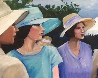 Ladies in Hats