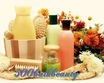 500 Bath and Beauty Recipes This item will be delivered to you as a digital file. This eBook come in ZIP format