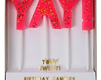 Yay! Party Candles