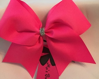 SALE Neon Pink Bow