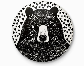 The Bear - Pocket Mirror