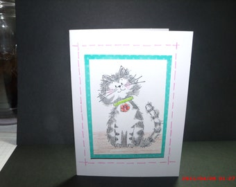 Handmade card for your friends and family.
