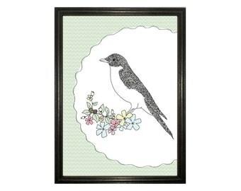 Bird Poster A4