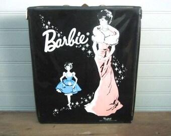 Vintage Ponytail Barbie Doll Case Mattel 1962