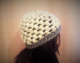 Slightly Slouchy Crochet Beanie