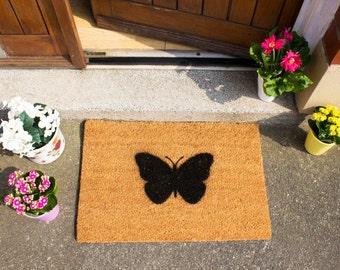 Butterfly doormat - 60x40cm