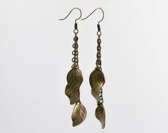 Olive Leaf Earring