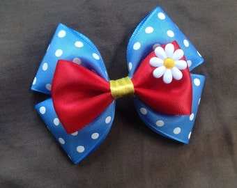 Classic Minnie Mouse Inspired Bow