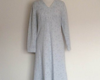 1960s MOD Evening Dress with Glitter Thread Vintage