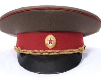 USSR military hat officer of Internal troops MVD of USSR Army