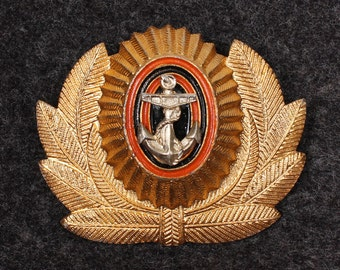 Russian Officers Naval insignia hat pin