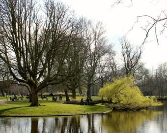 Vondelpark, in the Netherlands