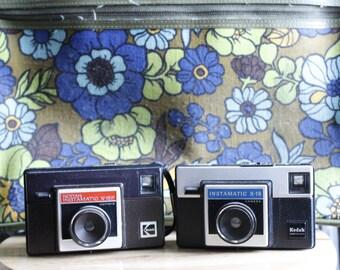 2 Kodak Instamatic Cameras X-15f & X15