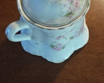 Vintage Avona China covered sugar bowl