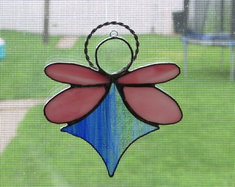 Stained Glass Angel Suncatcher