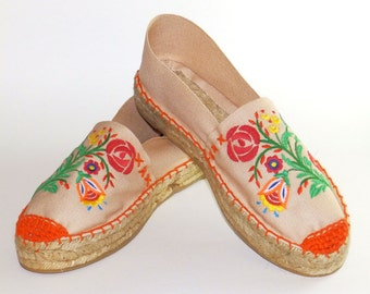 Espadrilles Flowers colorful