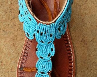 African gladiator maasai sandals